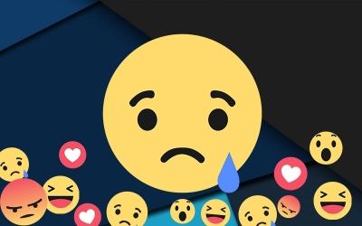 Envoyez des réactions tristes sur Facebook !