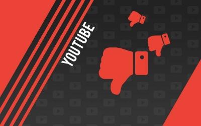 Acheter des pouces rouges - dislike Youtube