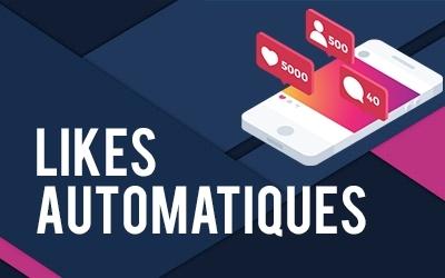 Auto-likes et likes automatiques Instagram